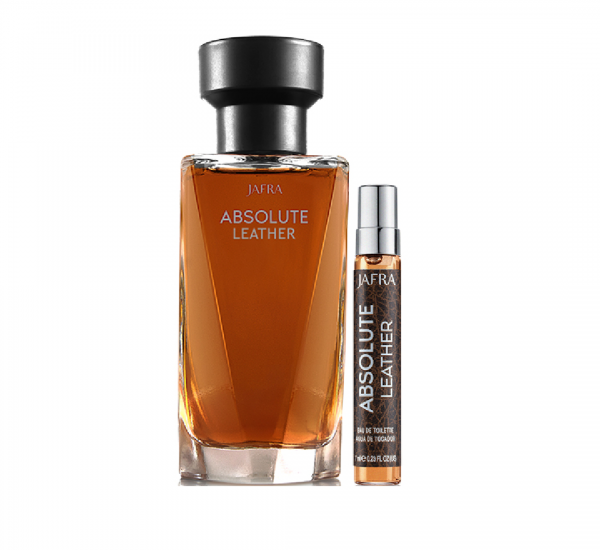 Absolute Leather EdT & Taschenzerstäuber