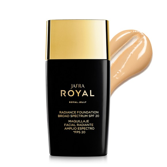 Make-up für strahlenden Teint Honey