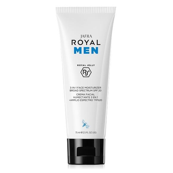 ROYAL Men 3-in-1 Feuchtigkeitscreme mit LSF 20