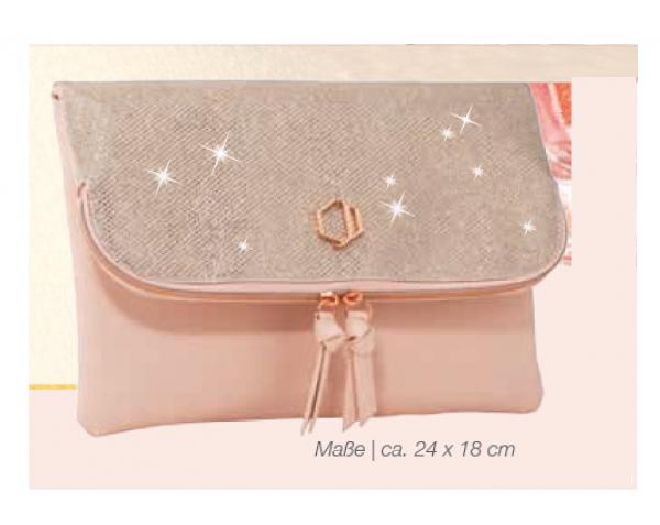 Diamonds Rosé Gold Clutch