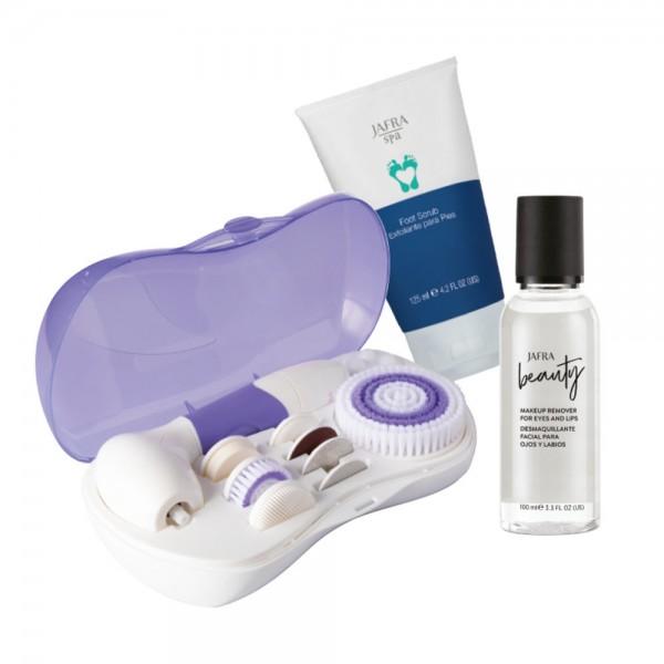 9-in-1 Reinigungssystem für Gesicht und Körper & Geschenk