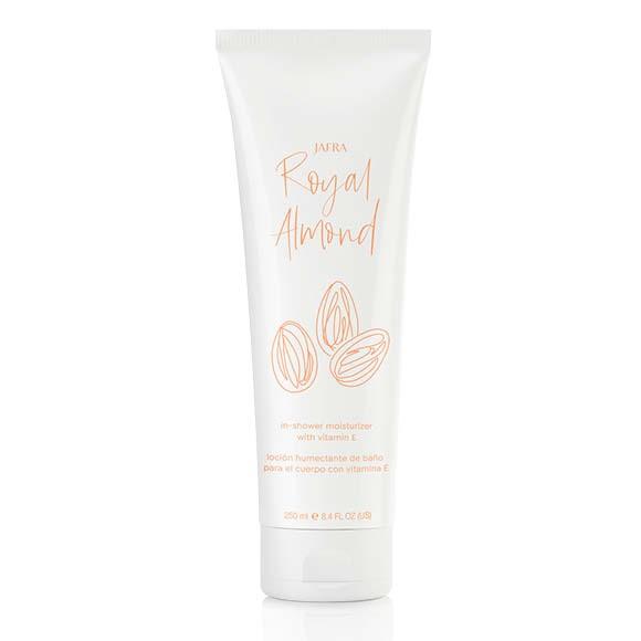 Royal Almond Feuchtigkeitscreme für die Dusche mit Vitamin E