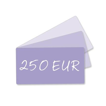 250 EUR Geschenkgutschein