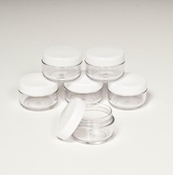 6er Set Kosmetikdose für 6 ml